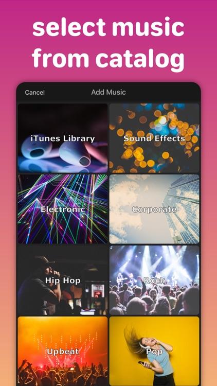 Add Music, Merge, & Trim Video