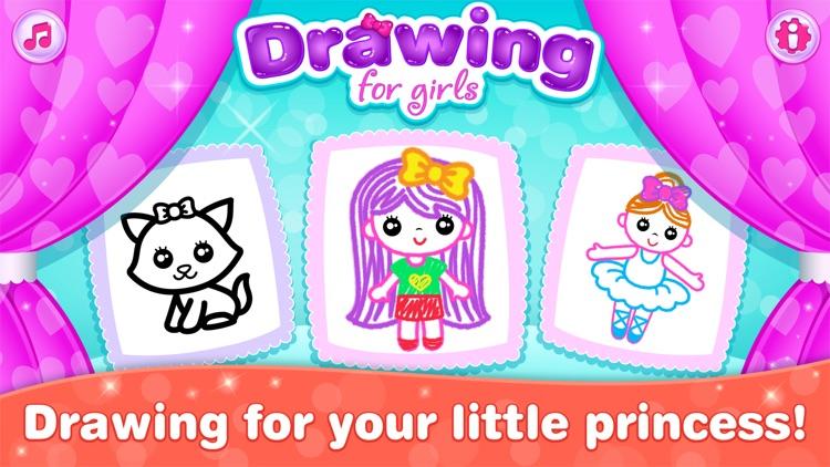 Games for Girls! Kids Drawing! screenshot-0