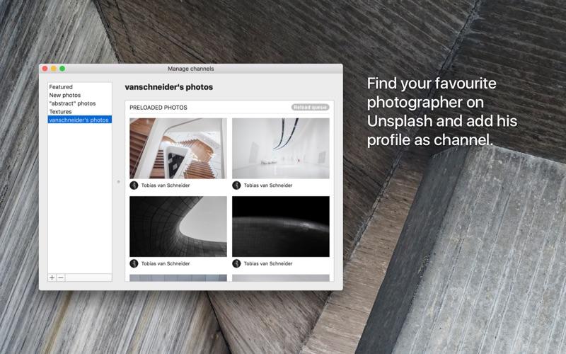 Irvue utilisez les photos d'Unsplash comme wallpaper-capture-2