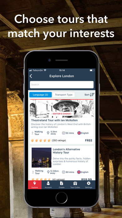 VoiceMap: GPS Audio Guides, Offline City Tours screenshot