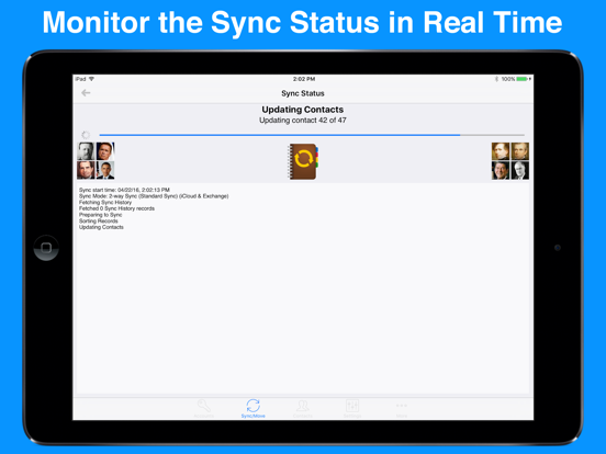 Contact Mover & Account Sync screenshot