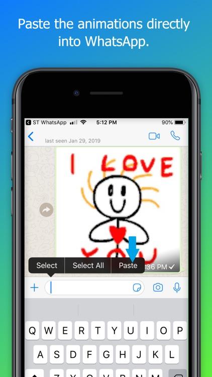 Stick Texting - Chat screenshot-3