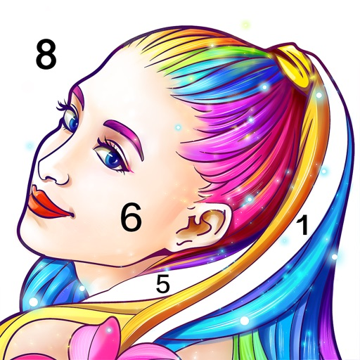Coloring Fun : Color by Number icon