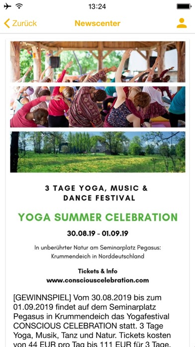 Yogazentrum BuxtehudeScreenshot von 5