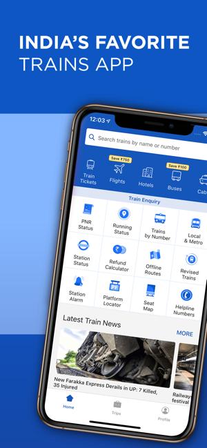 IRCTC Running Status: ixigo on the App Store