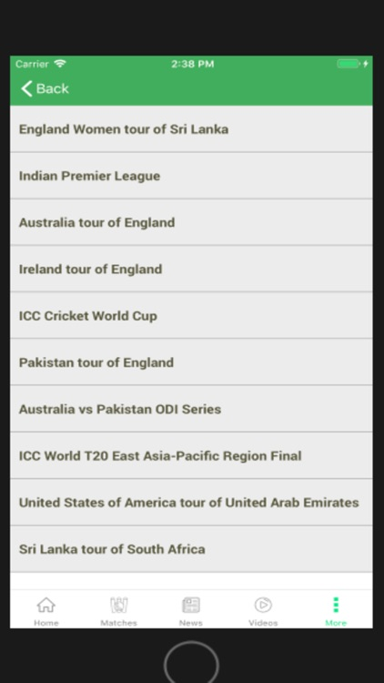CRIKNOW: Cricket Scores & News screenshot-7