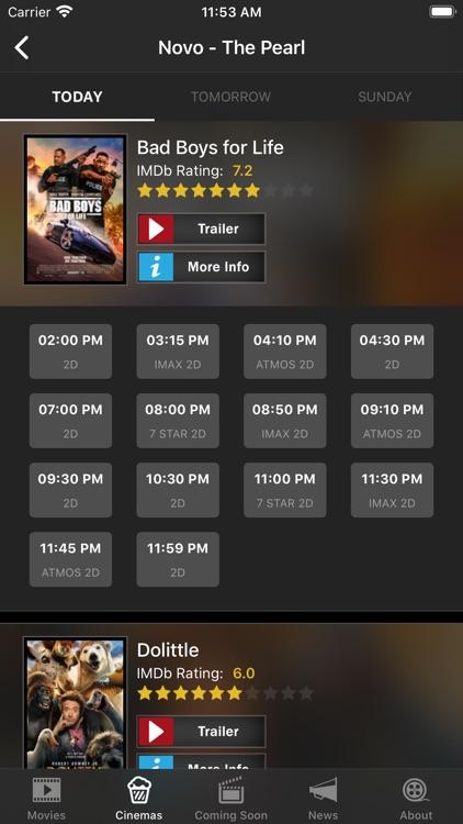 Cinema Qatar screenshot-3
