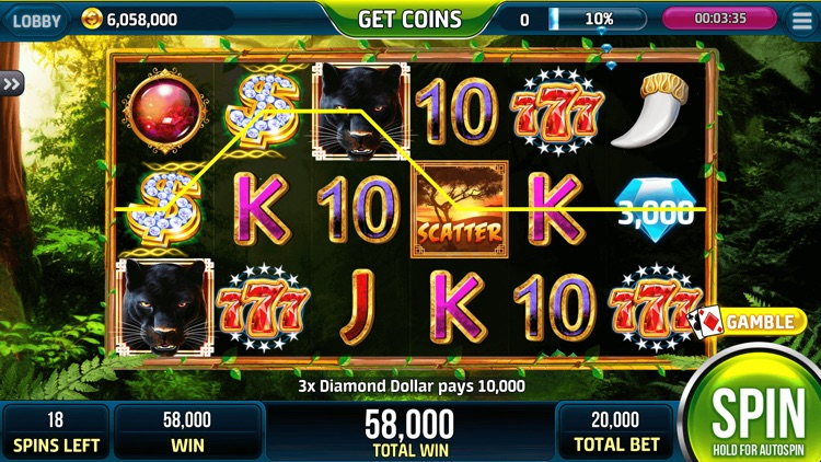 Wolf Slots Jackpot Casino ™ screenshot-5