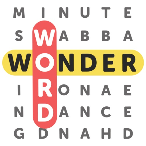 Wonder Word: Word Search Games Icon