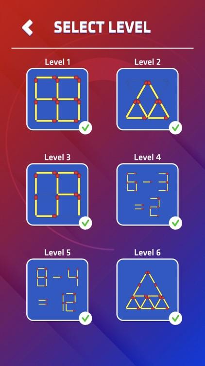 Matchstick Puzzle King Pop screenshot-6