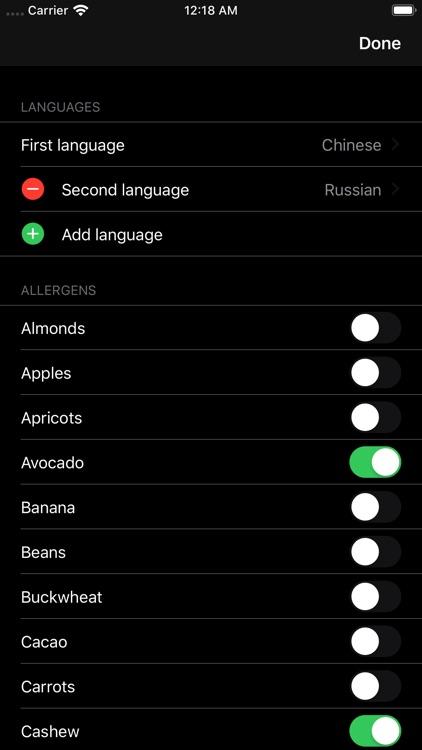 Allergic Traveler screenshot-4