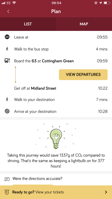 East Yorkshire Buses screenshot four