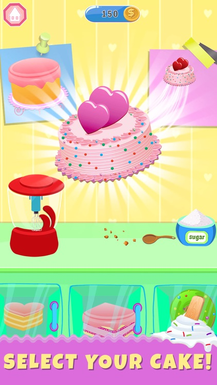 Ice Cream Cake Baker Shop
