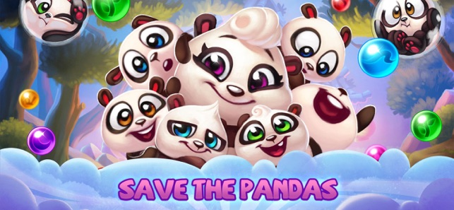 Panda Pop! Bubble Shooter Game on the App Store