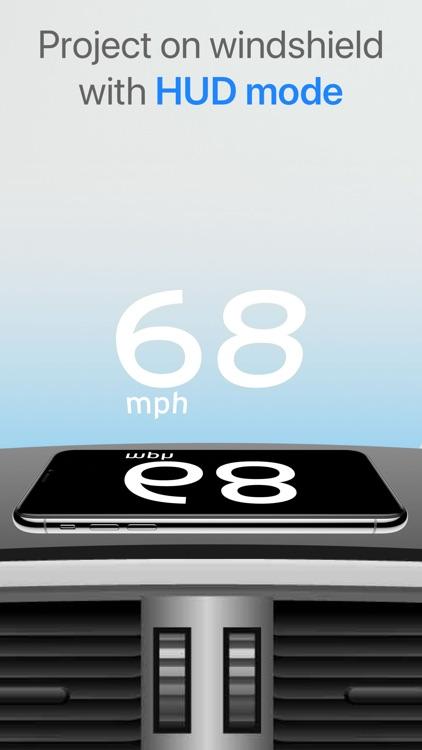 Speedometer One Speed Tracker+ screenshot-4