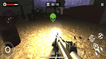 Survival Sniper Zombie Army 3D screenshot 1