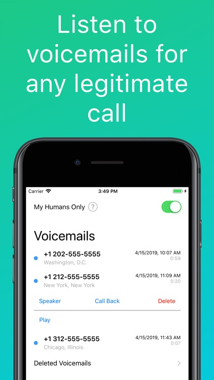 MyHumans: Spam Call Blocker screenshot-2