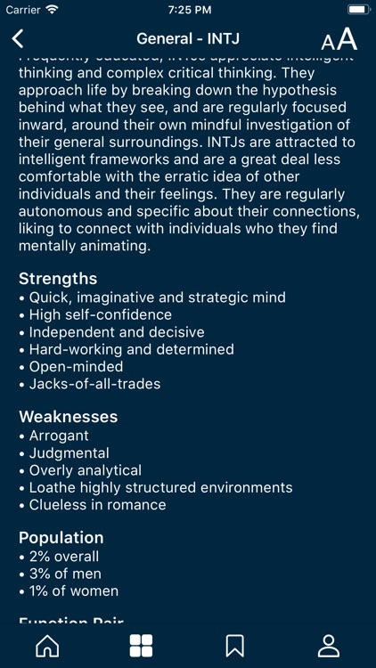 MB Personality Type