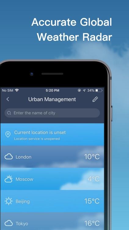 Live Weather-Local Weather App screenshot-9