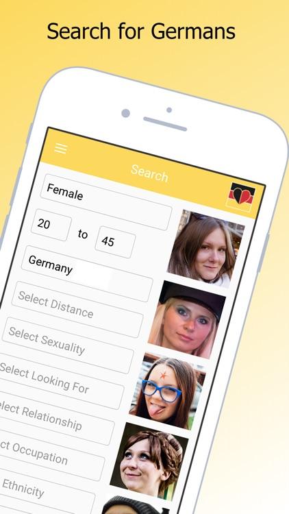 Single And German Dating Chat screenshot-3