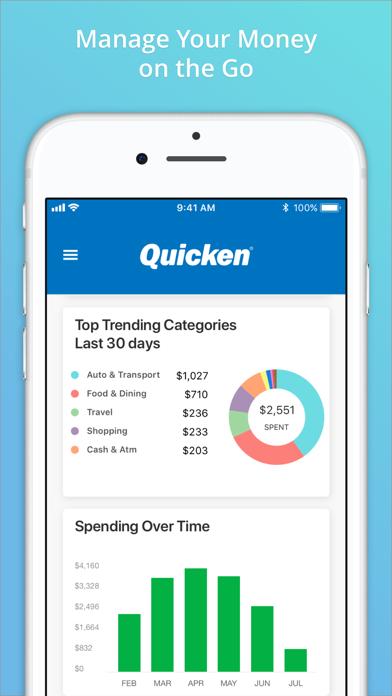 Quicken by Quicken Inc  (iOS, United States) - SearchMan App Data