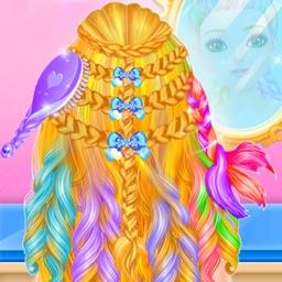 Princess Braided Hair Stylist