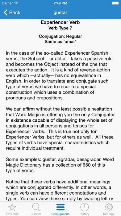 English Spanish Verbs IPA Cracked for iOS Free Download