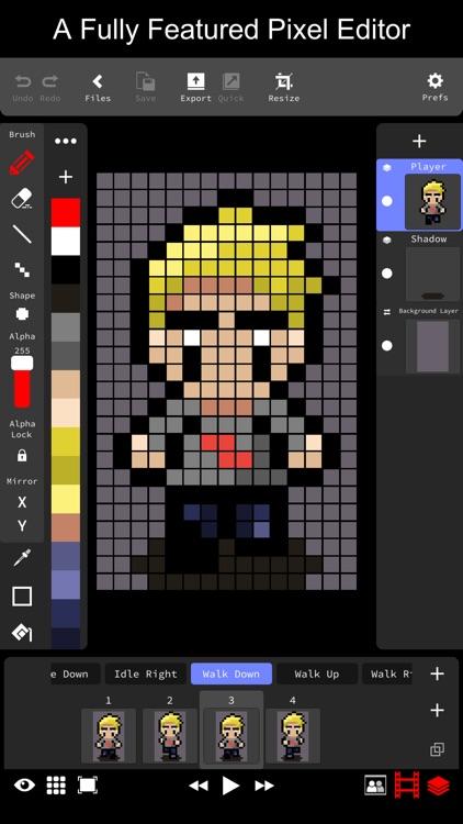 Pixie Studio - Pixel Editor screenshot-0