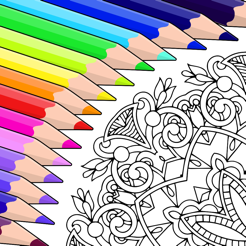 ‎Colorfy: Colouring Book Games