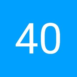 Football 40/25 Playclock