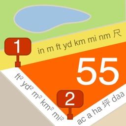 Planimeter 55. Measure on map.
