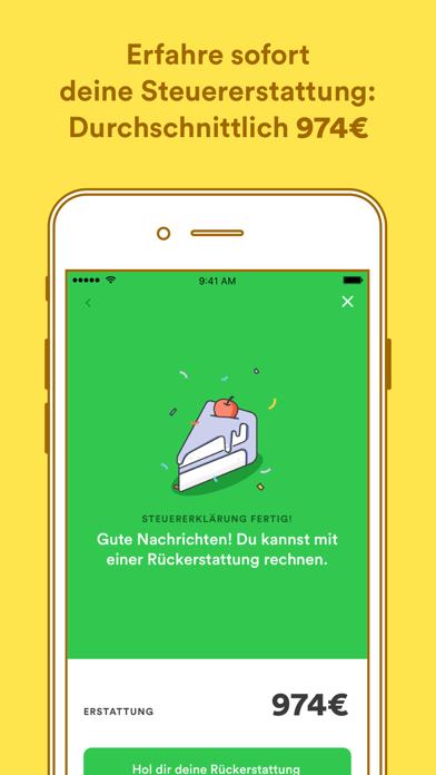 Screenshot for Taxfix - Die Steuer-App in Finland App Store
