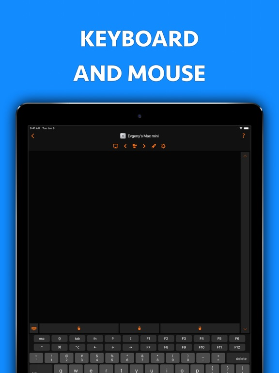 Remote, Mouse & Keyboard Pro Screenshots
