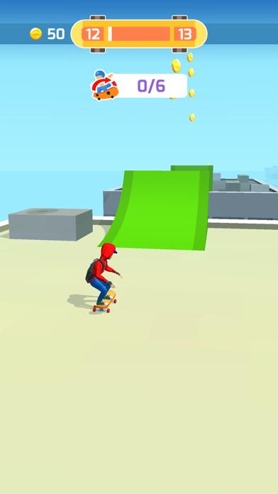 Skater Race screenshot 2