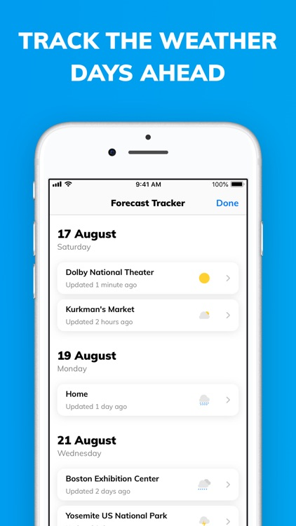 Weather Assistant by ClimaCell screenshot-6