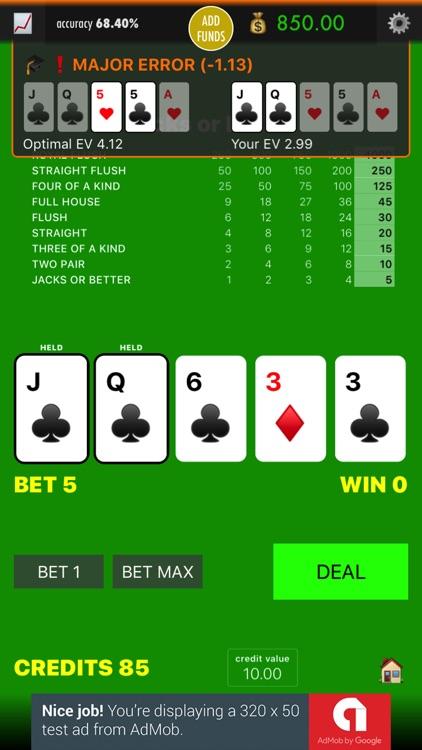 Practice Video Poker screenshot-3