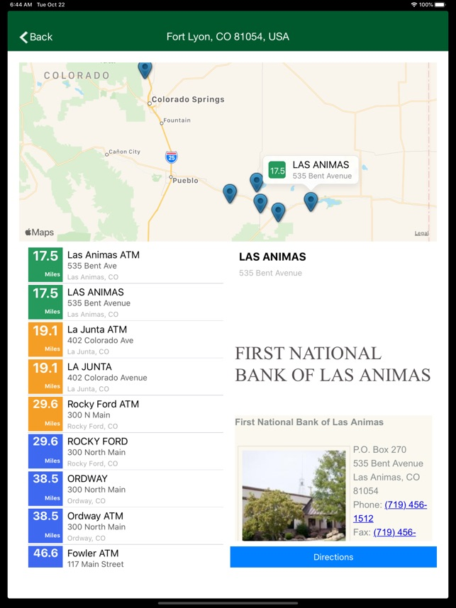 First National Bank Las Animas On The App Store