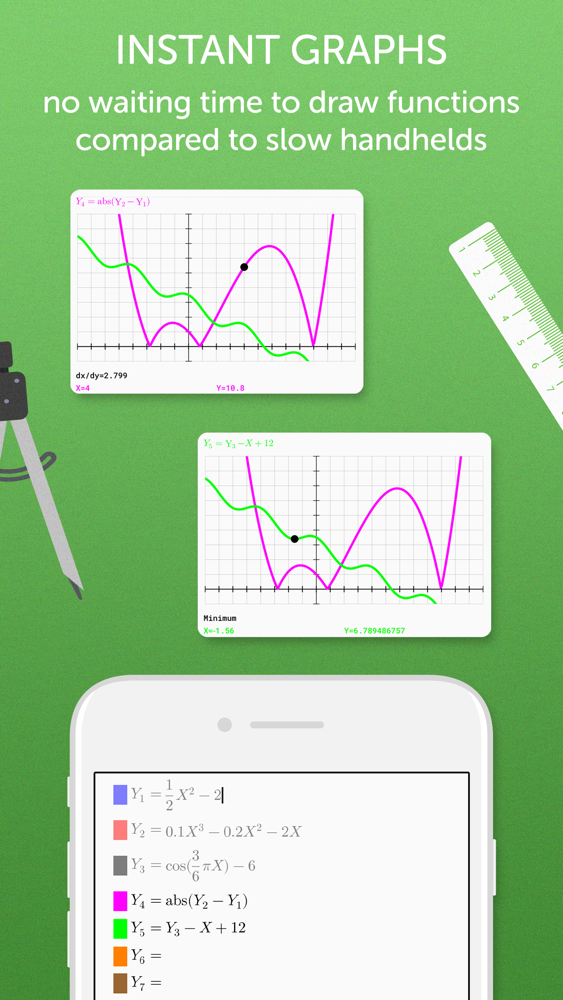 Graphing Calculator Pro² App for iPhone - Free Download Graphing