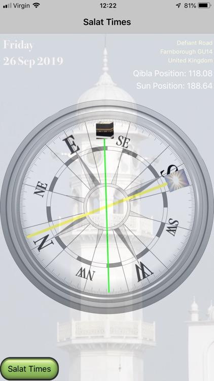 Salat Calculator - MAUK screenshot-4