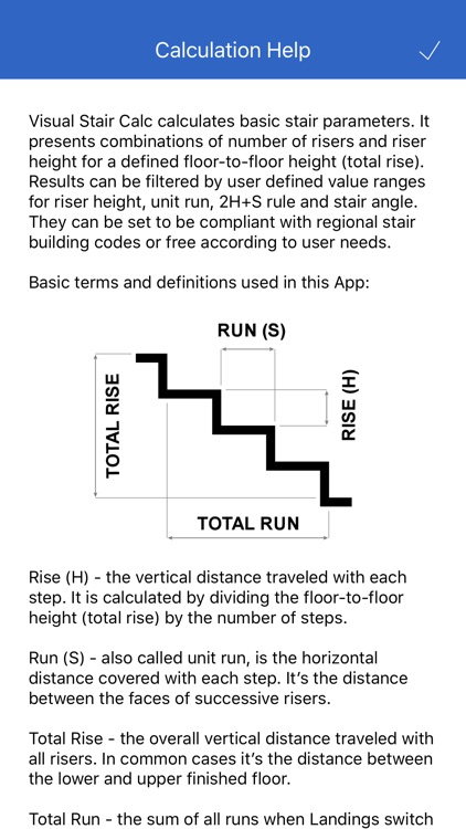 Visual Stair Calc screenshot-4