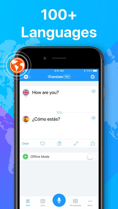 Screenshot for iTranslate Translator in Singapore App Store