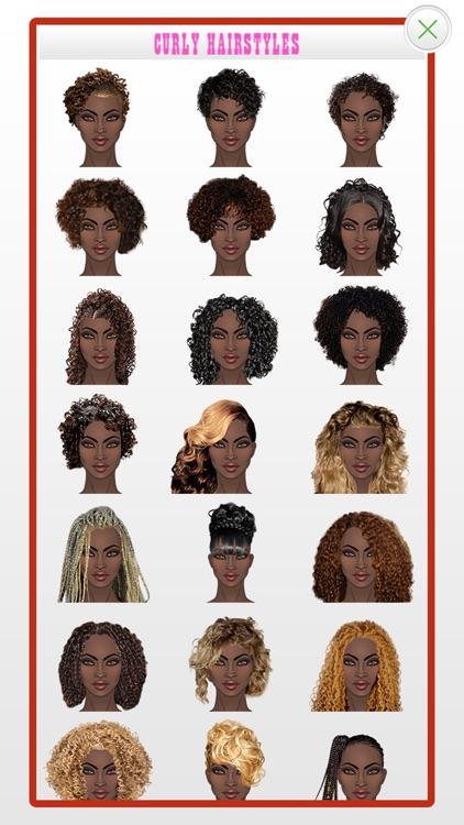 Black Hair for Women screenshot-6