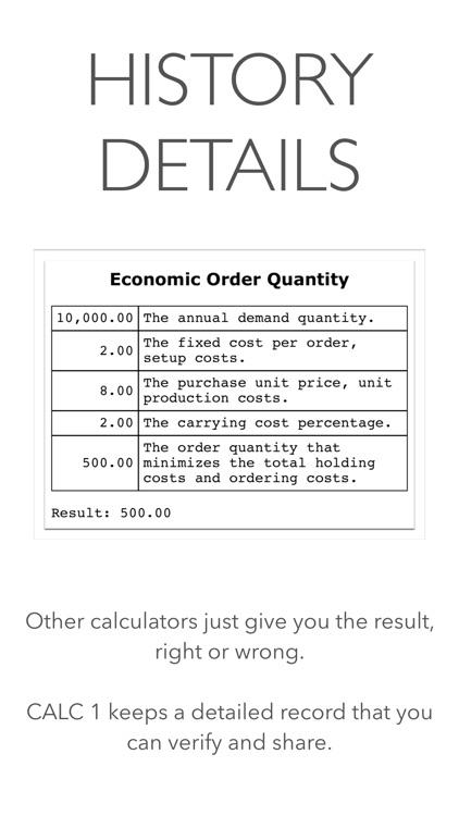 CALC 1 Financial Calculator screenshot-6