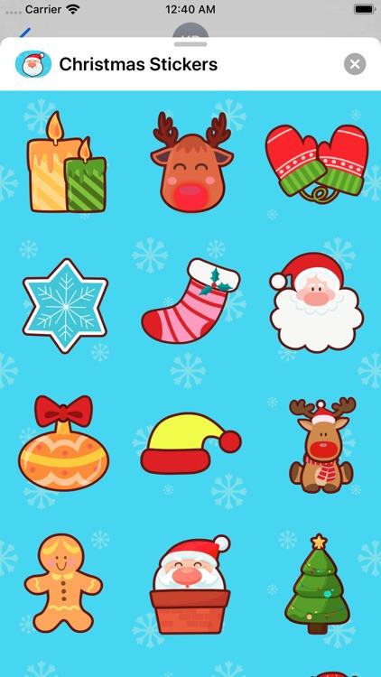 Christmas Stickers * screenshot-4