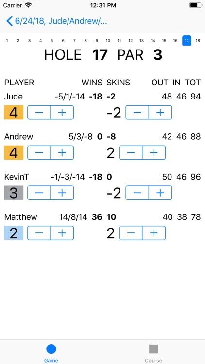Joe's Scorecard screenshot-3