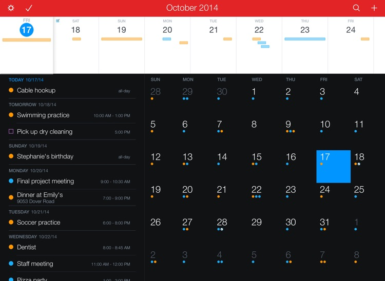 Fantastical 2 for iPad screenshot-0