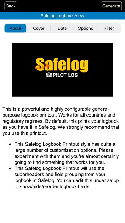 Safelog Pilot Logbook screenshot-6