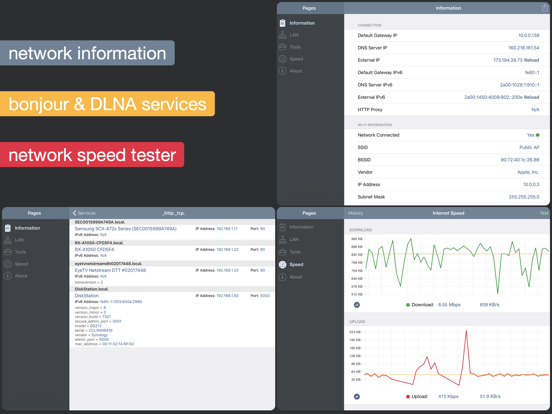 Network Analyzer Pro Screenshots