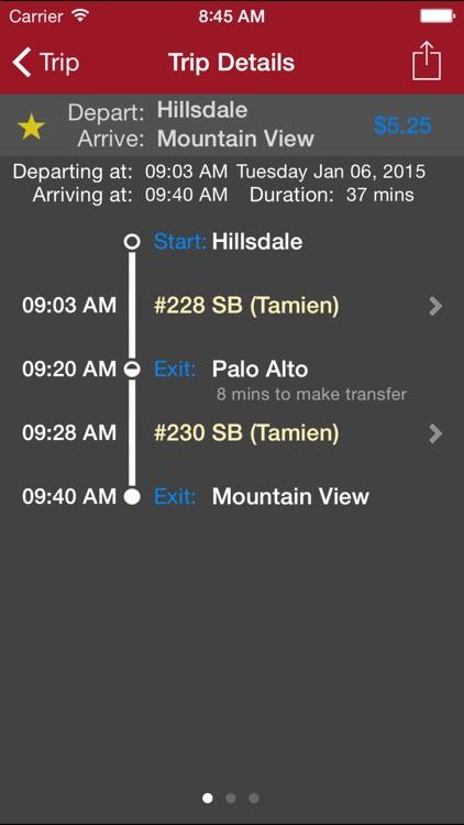 CaltrainMe screenshot-3