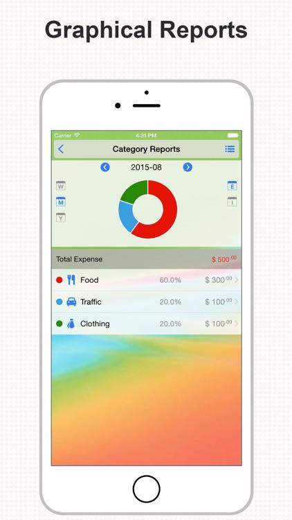 DayCost - Personal Finance screenshot-3